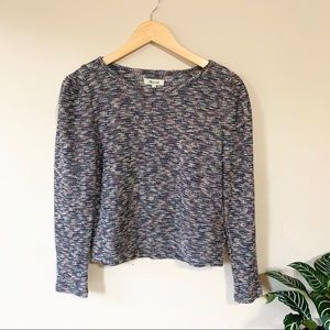 NWT Madewell Multicolored Knit Top